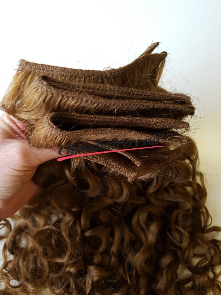 4. Kész tresszelt haj megmosva, minőségjavítás hajpakolással