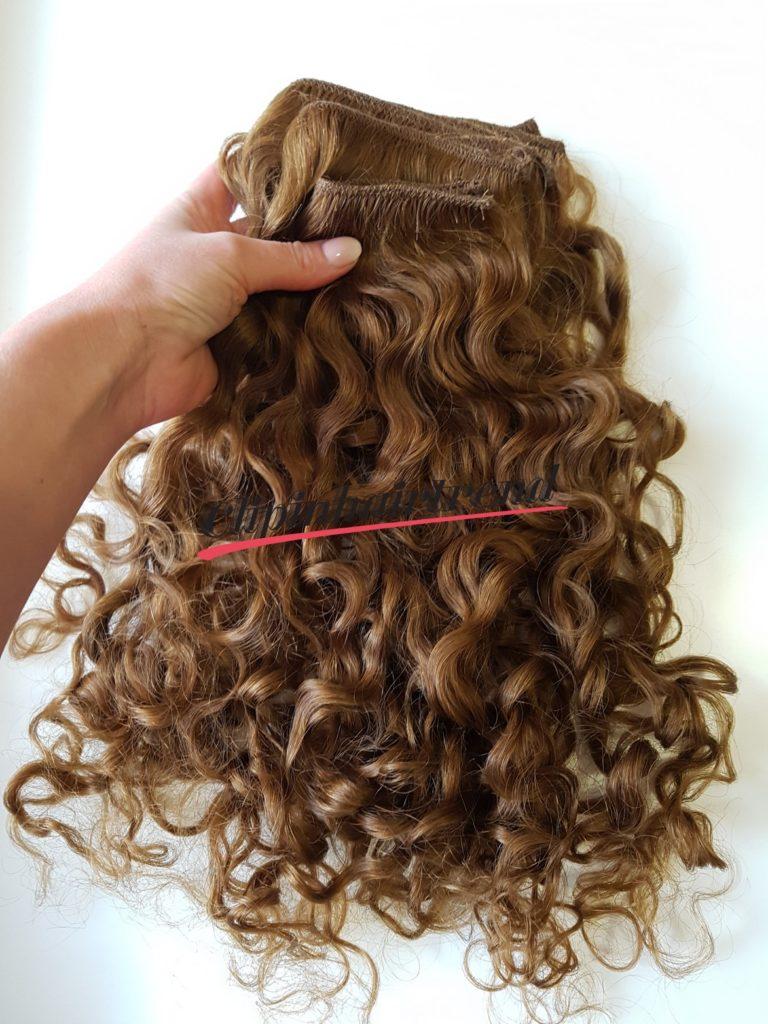 5. Kész tresszelt haj megmosva, minőségjavítás hajpakolással 2