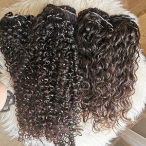 Göndör és hullámos hajak